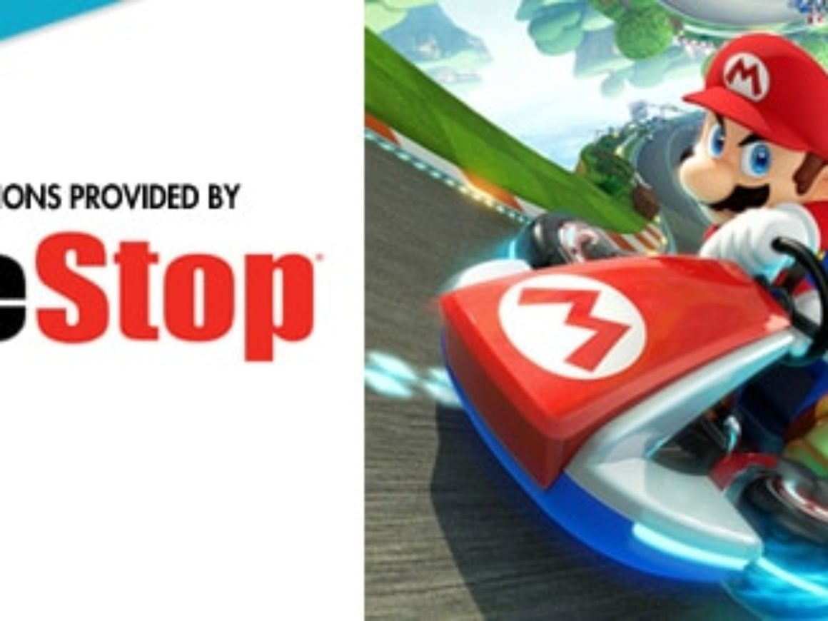 gamestop-mario kart 8 at GAAM