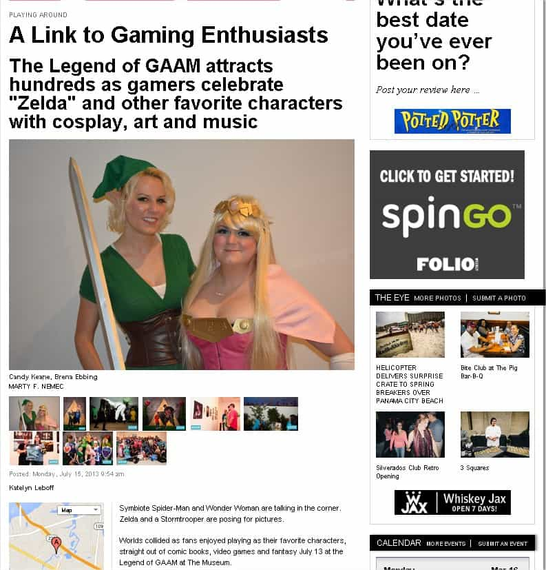 A Link to Gaming Enthusiasts Folioweekly Google Chrome