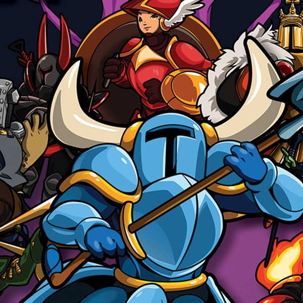 gaam invational charity art auction shovel knight 02
