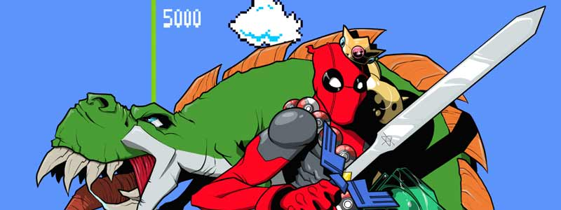 gaam-invational-charity-art-auction-deadpool-nintendo-preview