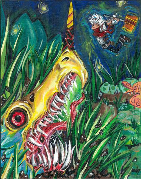 TLOG Invitational Charity Art Exhibit Piece