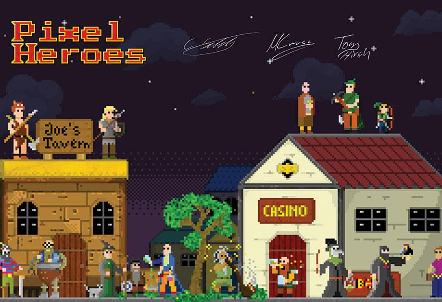 charity-art-13x19-posters-gaam-fantasy-_0010_eye-for-games---Pixel-Heroes---Tom-Hirsch