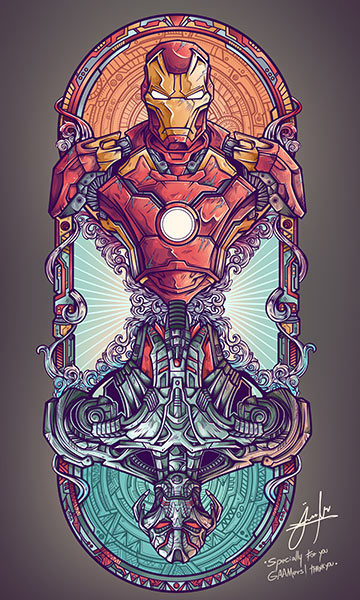 'Iron Man Vs Ultron' | Juan Ma