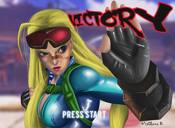 """Cammy Victory"" by Matheus Bernto"