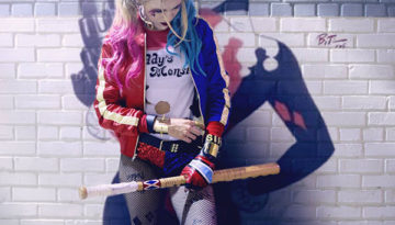 """Harley Quinn"" by Rebecca Thompson 