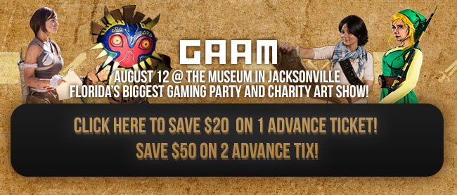 Click Here to Save $20 or more on 1 Advance Ticket!  Save $50 on 2 Advance Tickets!