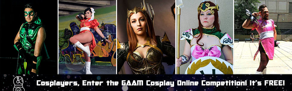 Enter the Cosplay online Contest