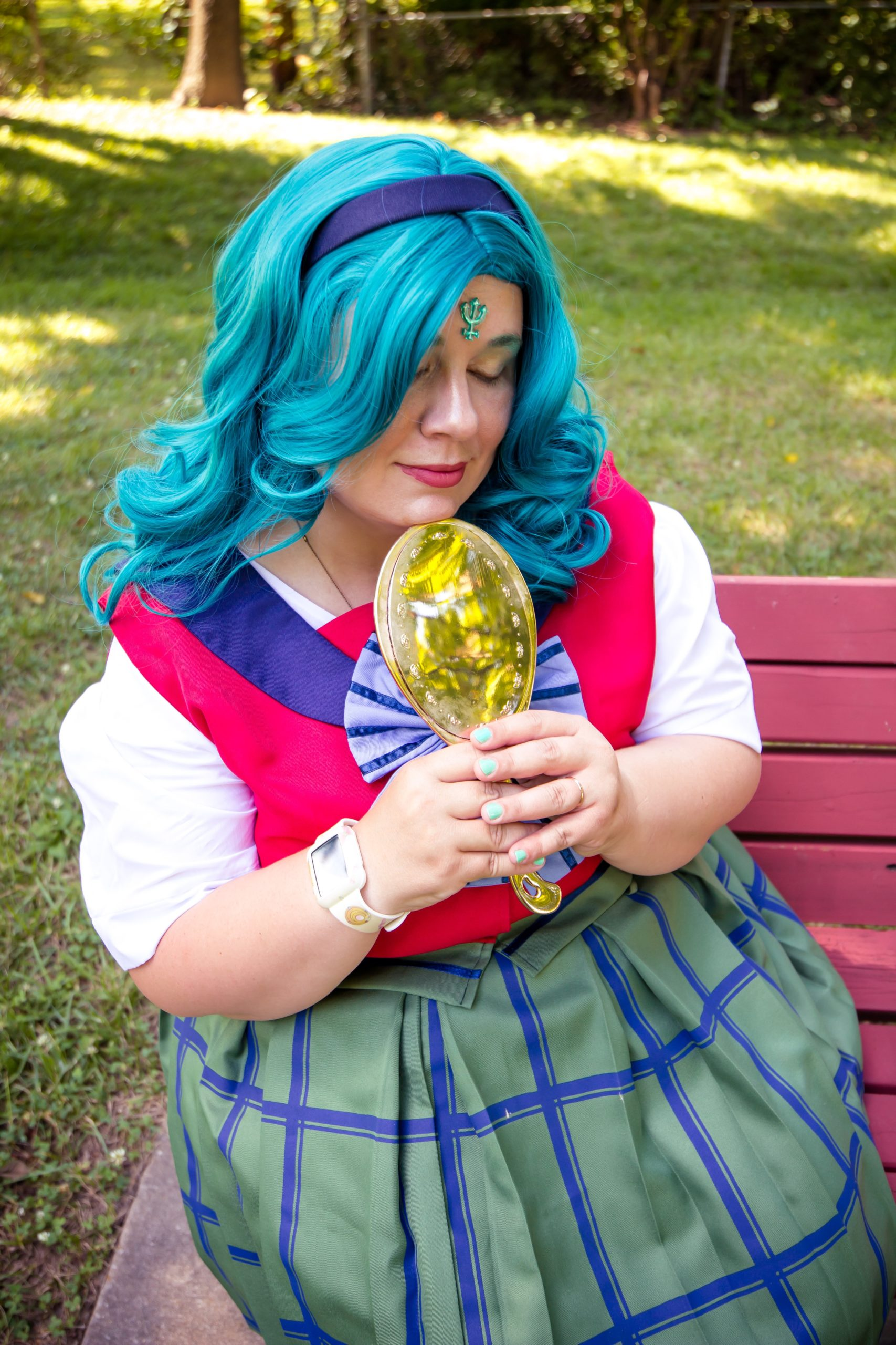 Elisa Crockett - Michiru Kaioh aka Sailor Neptune