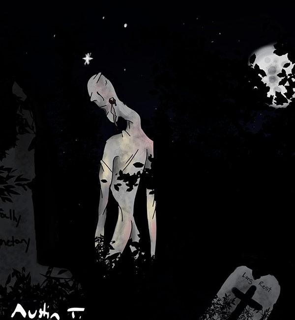 """""""The Watcher"""" (Elder Scrolls) by Austin Taylor"""