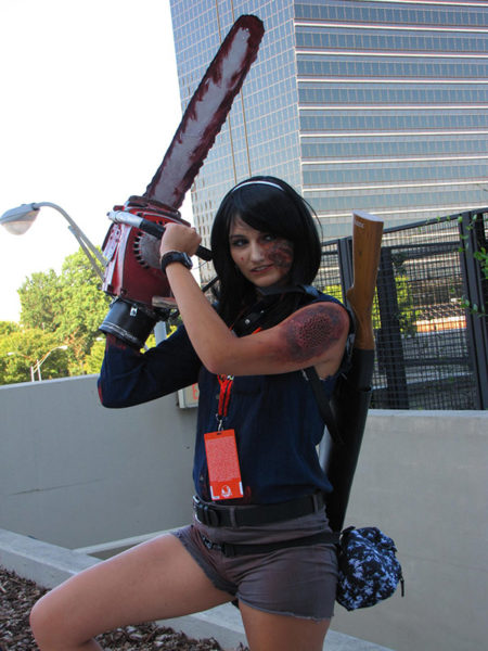 """Evil Dead Ash Williams Cosplay"" (Evil Deadl) by Destiney Erdelyi Chosen Charity: Extra Life Jacksonville"