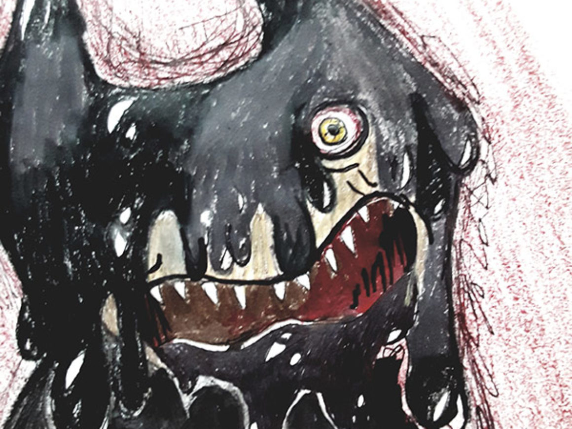 """Insanity of the Ink Demon"" (Bendy and the Ink Machine) by Ellie Ward Chosen Charity: First Coast No More Homeless Pets"