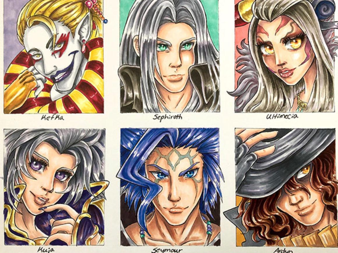 Brianna Miller | Final Fantasy Villains | Darby's Dungeon