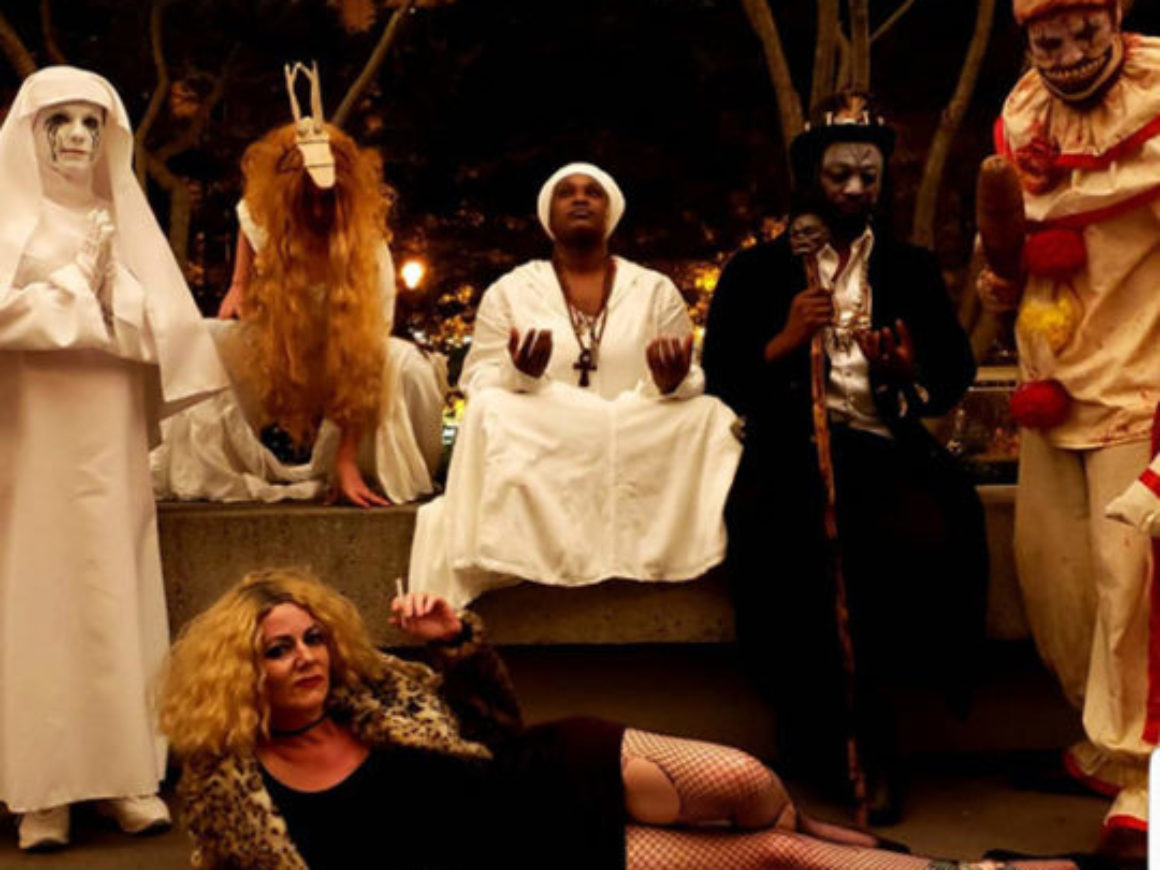 """American Horror Story"" (from American Horror Story) by Jenna Esposito Cosplay (with Verne Robert Williams, Heather King, Chris, Lavette and Feanix Poole)"