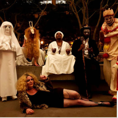 """""""American Horror Story"""" (from American Horror Story) by Jenna Esposito Cosplay (with Verne Robert Williams, Heather King, Chris, Lavette and Feanix Poole)"""