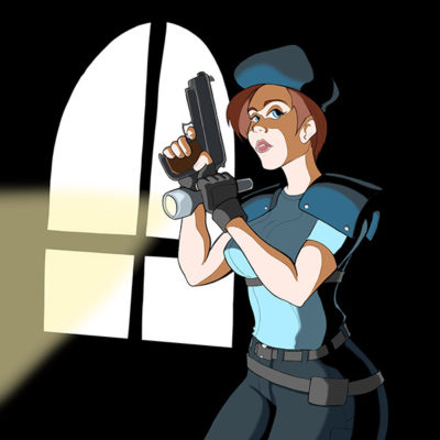"""""""Jill Valentine"""" (Resident Evil) by Terrell Tolliver"""
