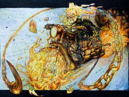 """A Ghost Rides a Whip"" by Juan Santiago"
