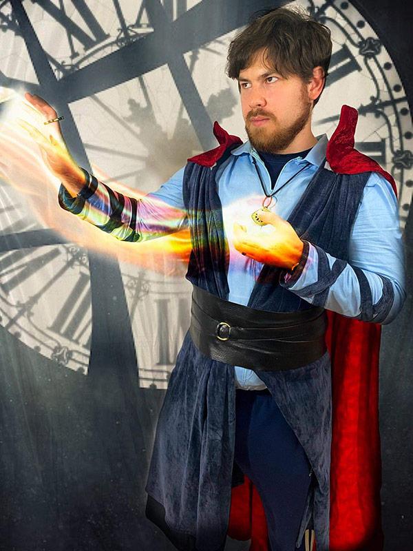 """Dr. Strange summoning power"" by Michael Kies"