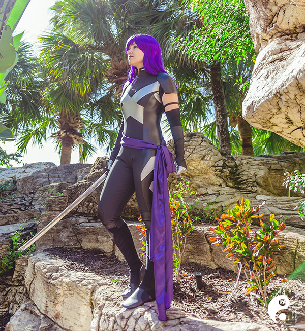 """Psylocke"" by Elaine House for St Judes Childrens Hospital"