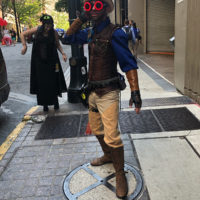 """""""Steampunk Cyclops"""" by David Gordon for First Coast No More Homeless Pets"""