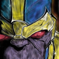 """""""Thanos"""" by Crumsabi for Extra Life"""