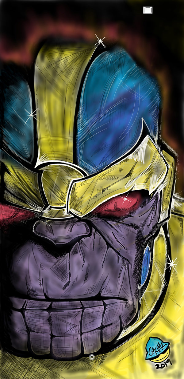 """Thanos"" by Crumsabi for Extra Life"