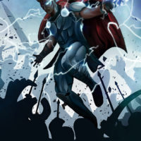 """""""Thor Ragnarok"""" by Mike Groe for Extra Life"""