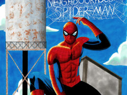 """""""Your Friendly Neighborhood Spider-Man"""" by Hikaru Muto for First Coast No More Homeless Pets"""