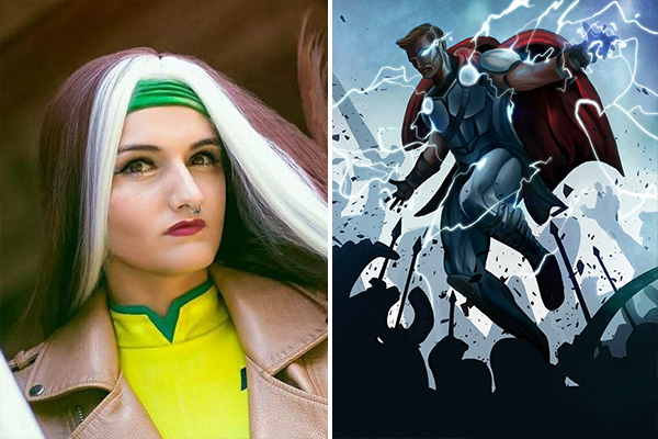 MARVELous Art and Cosplay Duel