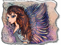 """Anime Angel Girl"" by Danielle Scotti"
