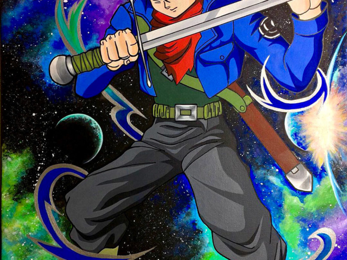 """Future Trunks "" by Teresa Martinez"