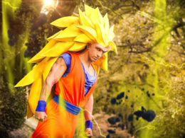 """""""Goku SSJ3 Cosplay"""" by Jacopo Pavone"""