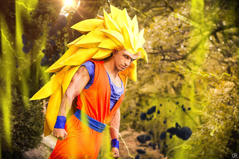 """Goku SSJ3 Cosplay"" by Jacopo Pavone"