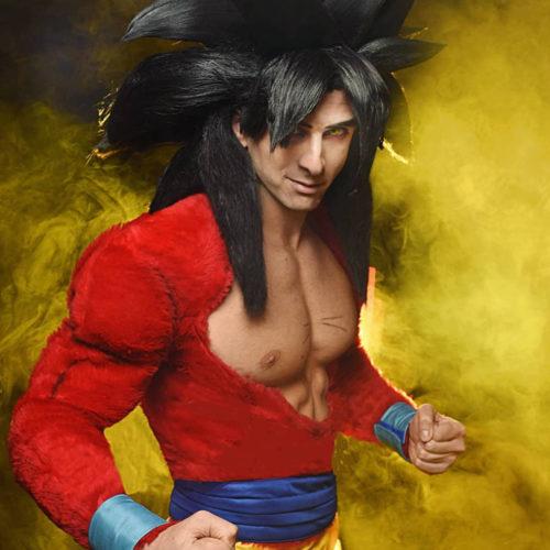 """""""Goku SSJ4 Cosplay"""" by Jacopo Pavone"""