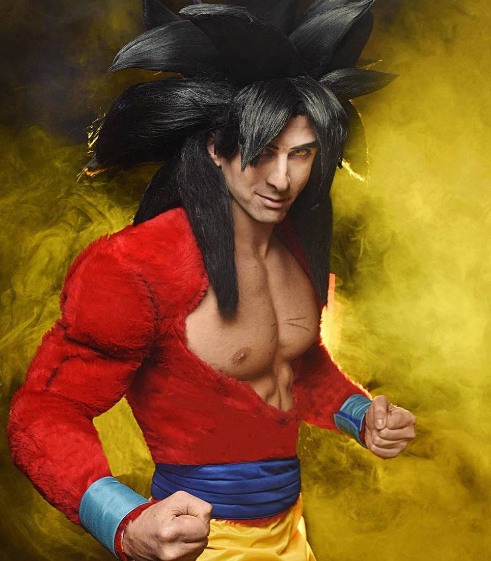 """Goku SSJ4 Cosplay"" by Jacopo Pavone"