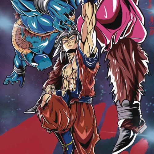 """Goku VS. Moro"" by Jean Pena-Santana"