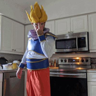 """Goku Yardrat Eva foam armour"" by Kyle WADE"