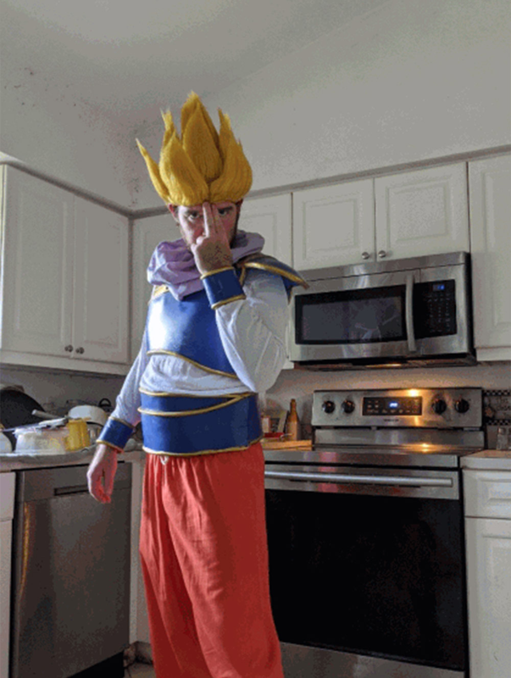 """Goku Yardrat Eva foam armour"" by Kyle WADE"