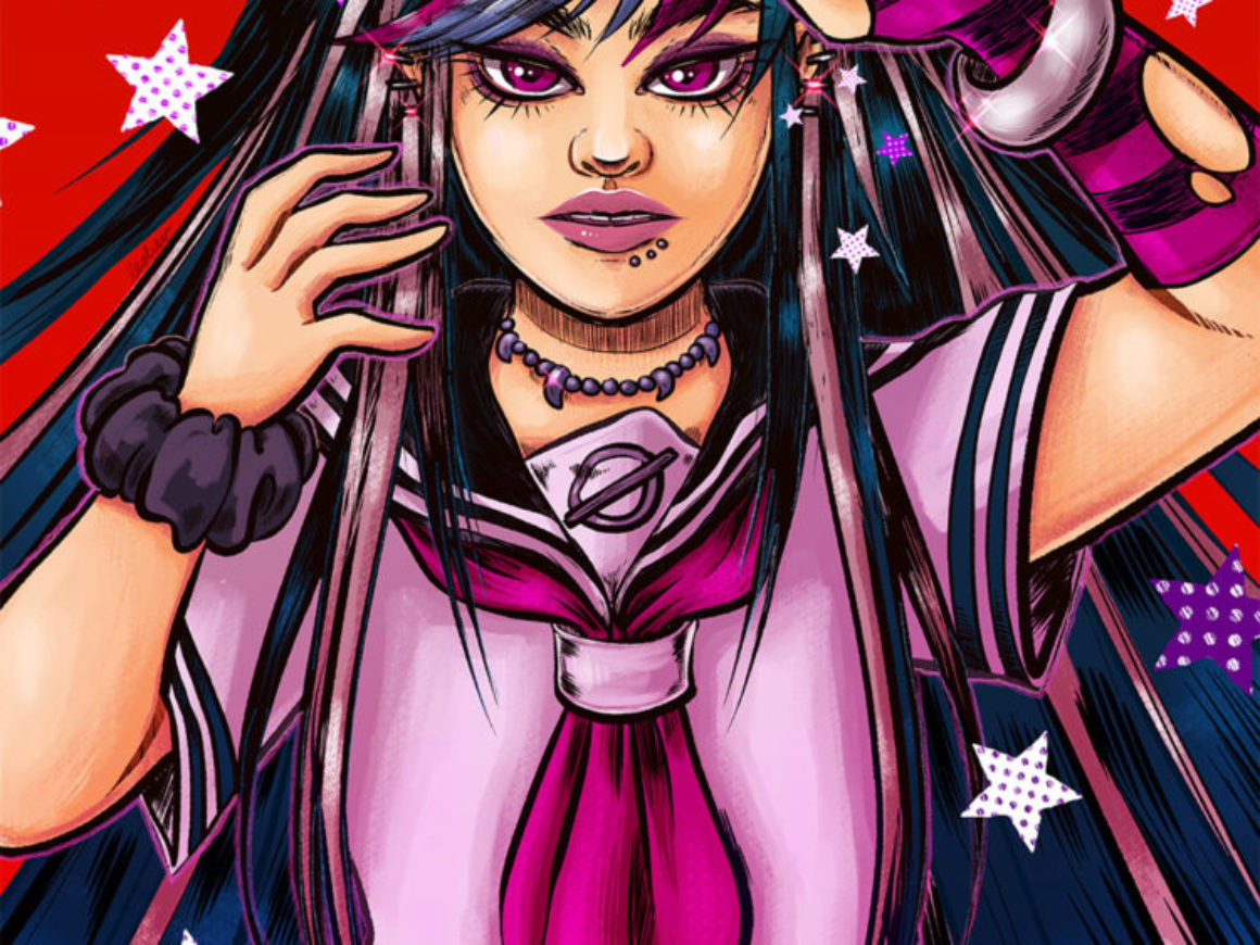 """Ibuki"" by Leslie Valerio of Chappy Lips by Leslie Valerio"