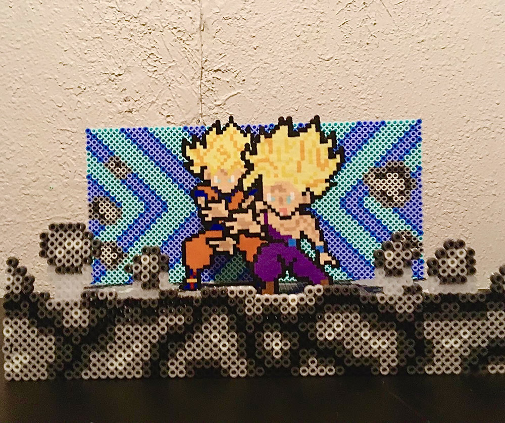"""Kamehameha"" by Alexis Kaisharis of Random Fandom Gifts"