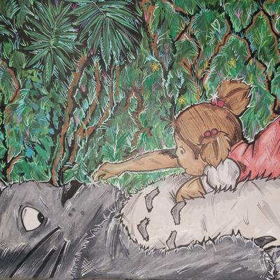 """""""Totoro"""" by Crumz Art"""