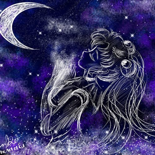 """Starry Sailormoon"" by Christina Johnson"
