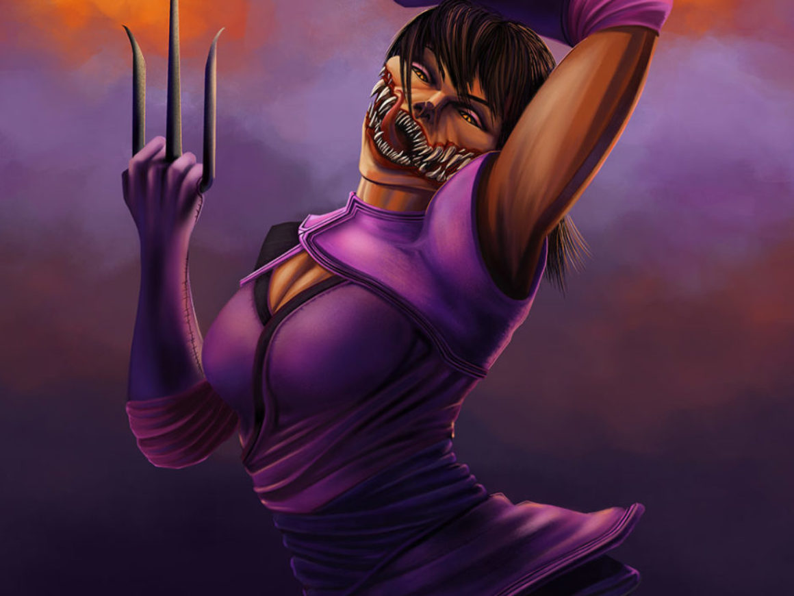 """Mileena"" by Mark D"