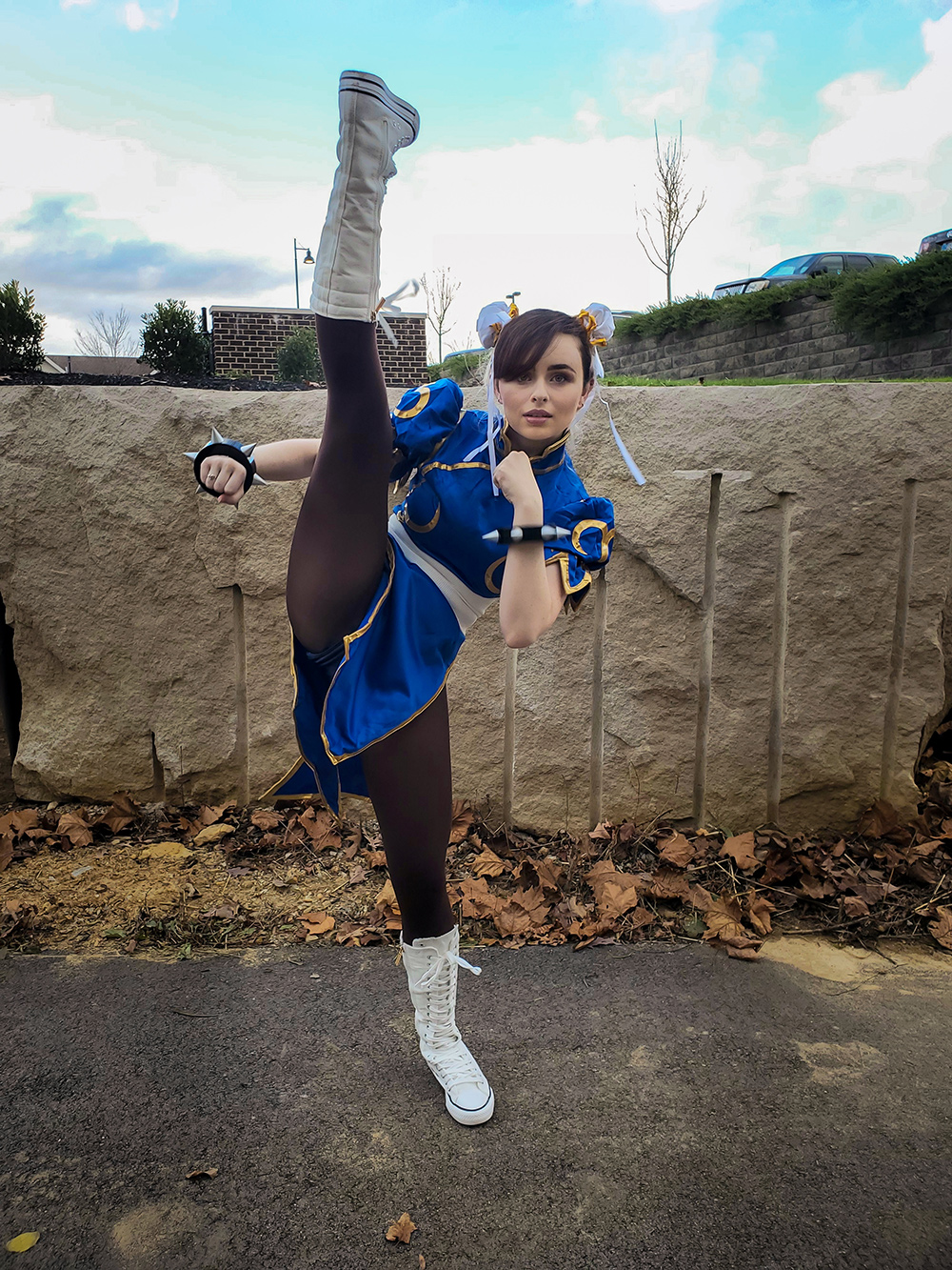 """Chun Li Cosplay"" by Courtney Judson"