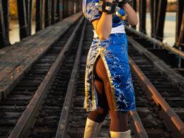 """Chun-Li is ready to fight!"" by Angelita Aboukassam"