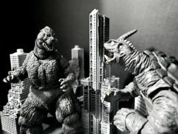 """Godzilla, King Of The Monsters Vs Gamera, Guardian Of The Universe"" by Dalton Fairbanks"