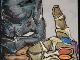 """InJustice Batman Vibe"" by Chris Hrdlicka"