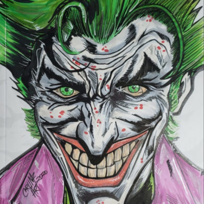 """InJustice Joker Vibes"" by Chris Hrdlicka"