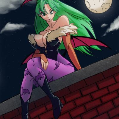 """Morrigan Aensland :D"" by Sadntboi69"