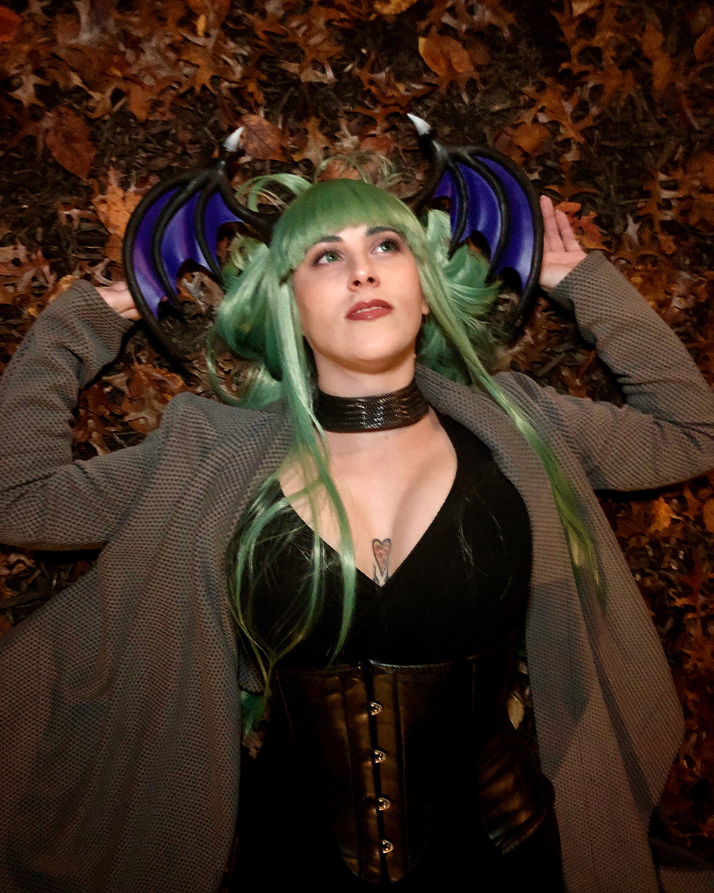 """Spooky, Scary, Succubus..."" by @violetvixcosplay"