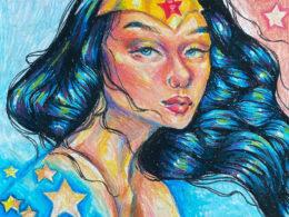 """""""Wonder Woman"""" by Angie Pulak"""